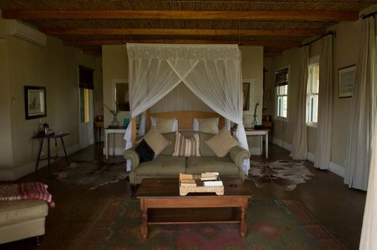 Samara Private Game Reserve: our room