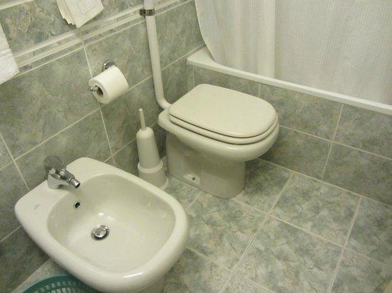 Hotel Alessandra: toilet
