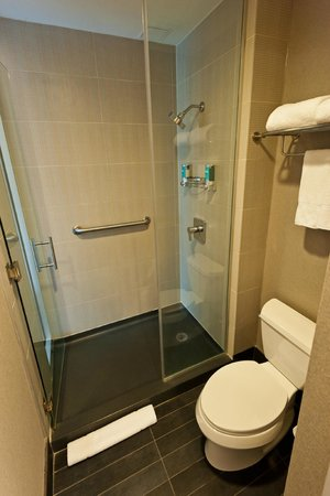 Aloft New York Brooklyn: Dusche