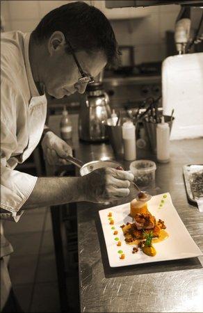 Hotel-Restaurant La Maison du Prussien: Le Chef