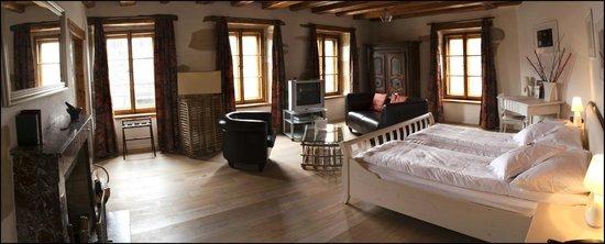 Hotel-Restaurant La Maison du Prussien: Chambre