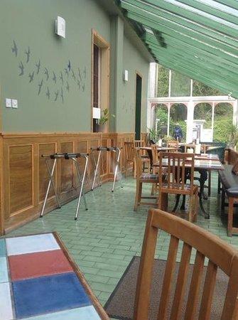 Carradale Hotel: conservatory dining area