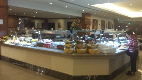 Excelsior Grand Hotel: Sala colazione