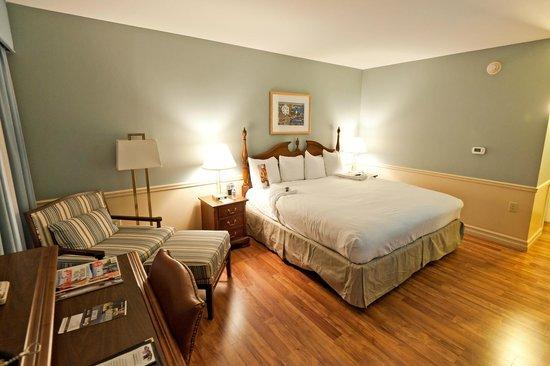 Portland Harbor Hotel : Schlafbereich