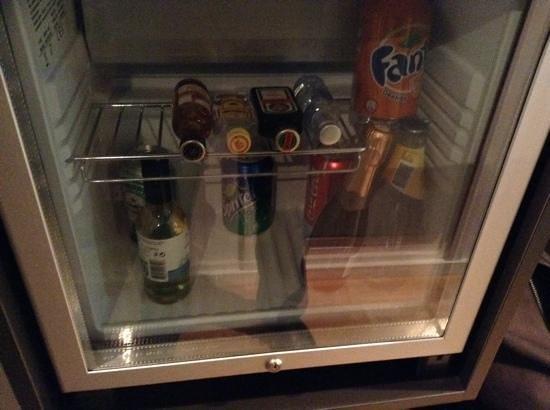 Scandic Kungsgatan: mini bar