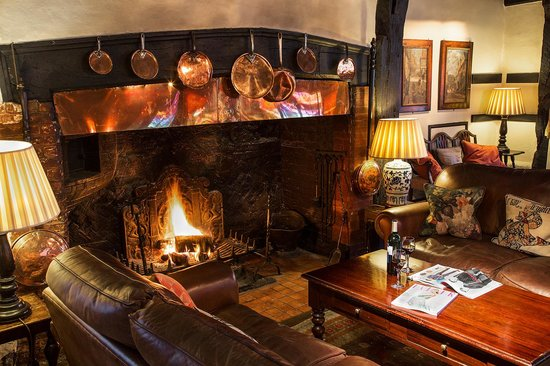 The Spread Eagle Hotel & Spa: Sit by our roaring fire