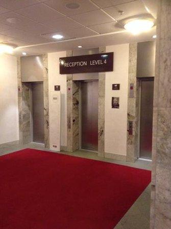 Scandic Kungsgatan: elevators