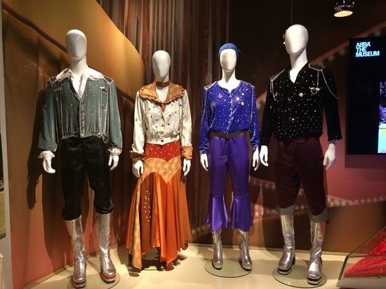 ABBA The Museum: Eurovision costumes