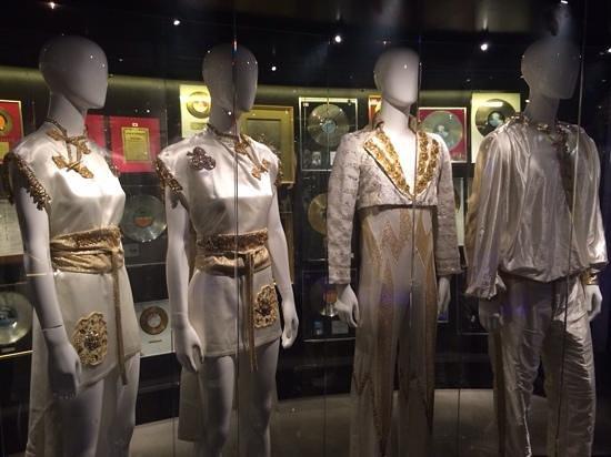 ABBA The Museum: Original costumes