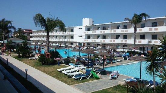 Dodeca Sea Resort by Forum Hotels: Udsigt fra vore altan