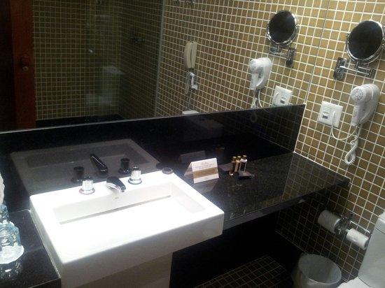 Ouro Minas Palace Hotel : Banheiro