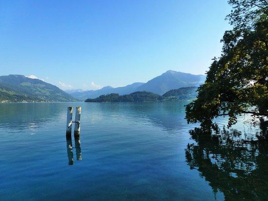 Risch, Schweiz: am See gelegen