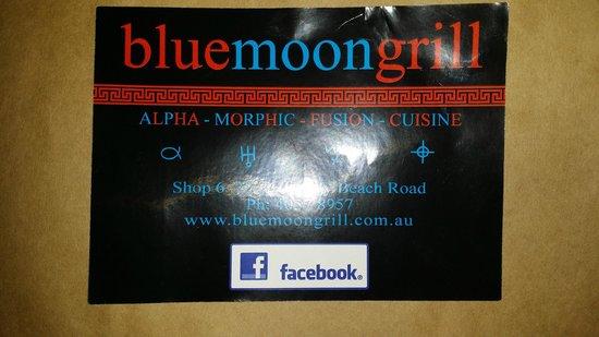 Blue Moon Grill: Logo