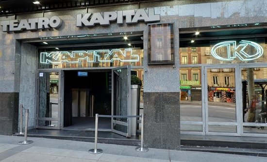 Teatro kapital madrid 2018 all you need to know before for Ibis paseo del prado