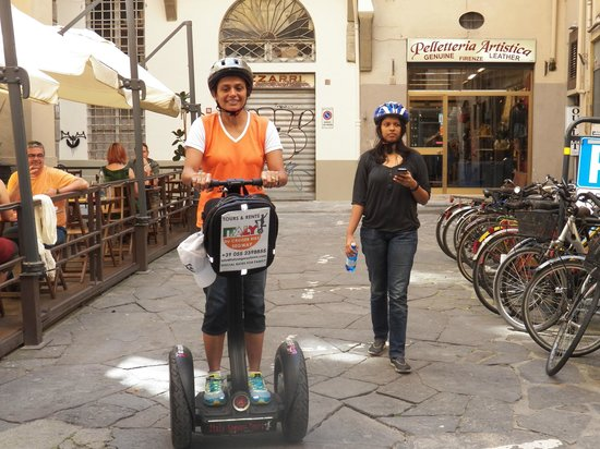 Italy Segway Tours: Off we go !!!