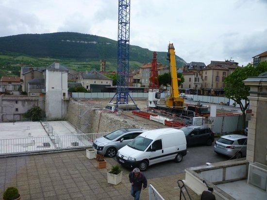 Hotel La Capelle : Building Site