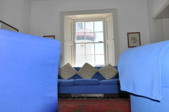 Galley Head Lightkeeper's House : living room