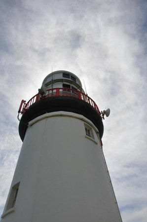 Galley Head Lightkeeper's House: lighthouse
