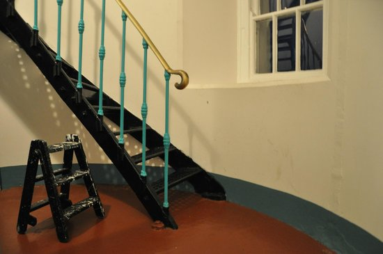 Galley Head Lightkeeper's House: inside lighthouse