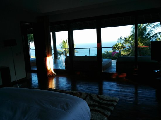 The edge : View from the 2 bedroom villa bedroom