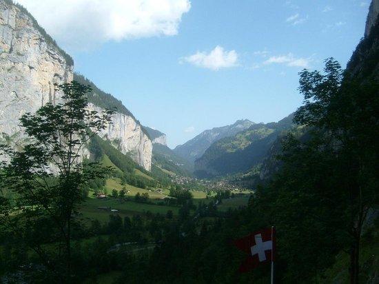 Trummelbach Falls: Aussicht