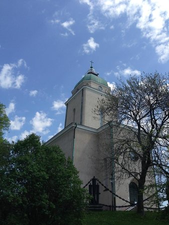 Forteresse de Suomenlinna : a church built by russians