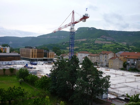 Hotel La Capelle : Building Site from room