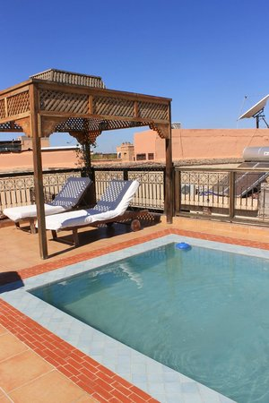 Riad BB Marrakech : rooftop