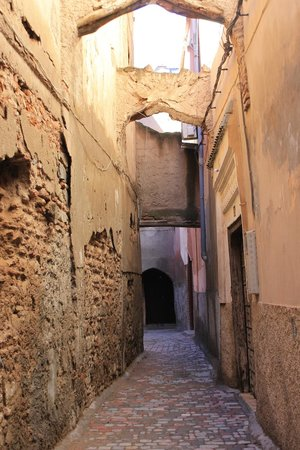 Riad BB Marrakech : the alley