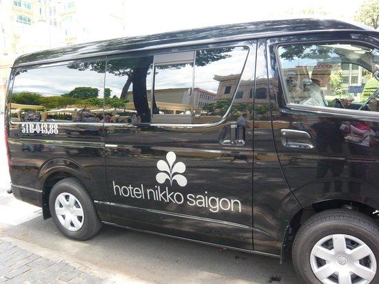 Hotel Nikko Saigon: ホテルのシャトルバスです