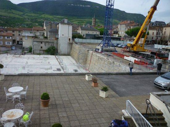 Hotel La Capelle: Building Site