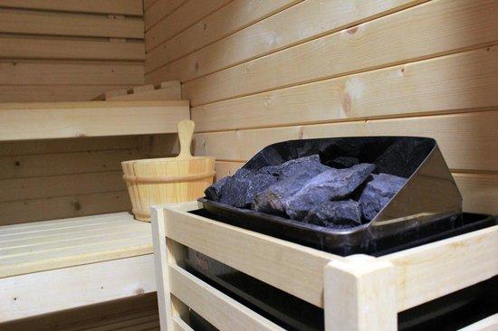 ESCUDEROS HOTEL CRUZ: Sauna