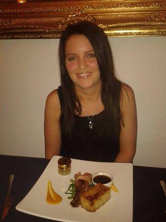 Porto Restaurant : Lakes speciality rump of lamb