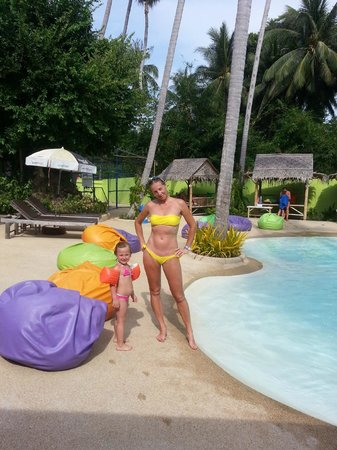 Chaweng Beachcomber : pool in Lamai