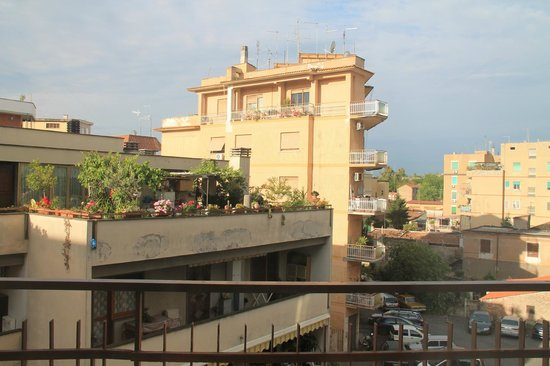 City Guest House : Вид с балкона