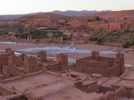 Hotel La Baraka: Ait Ben Haddou from the Kasbar