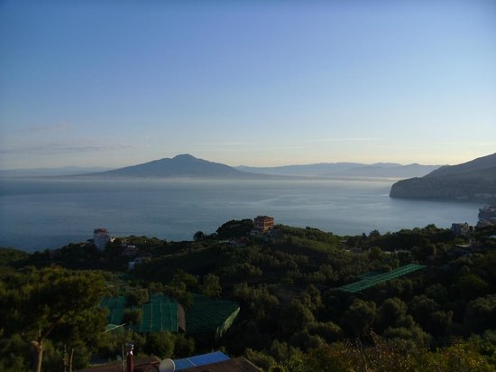 Il Nido Hotel Sorrento: What I woke up to each day