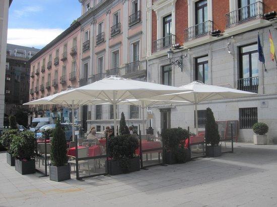 Intur Palacio San Martin : Terrace Bar