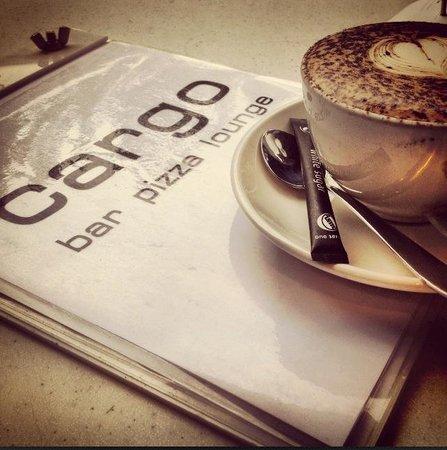 Cargo Bar Pizza Lounge: Espresso Coffee