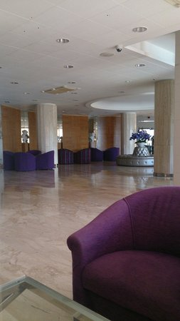 Cala Font Hotel : Lounge are in reception