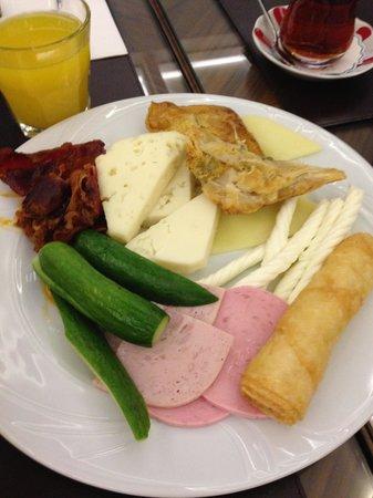Neorion Hotel: Завтрак