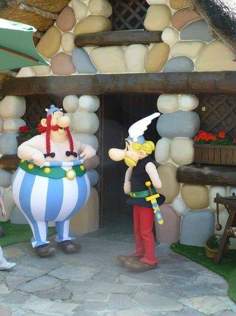 Parc Asterix: Les 2 héros