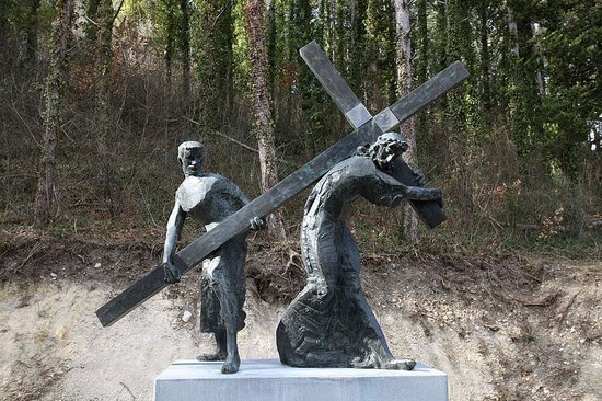 Stations of the cross at the old town