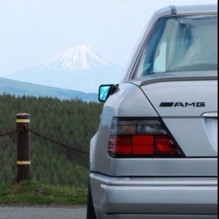 Kirigamine Fujimidai: 遠くに富士山見えます