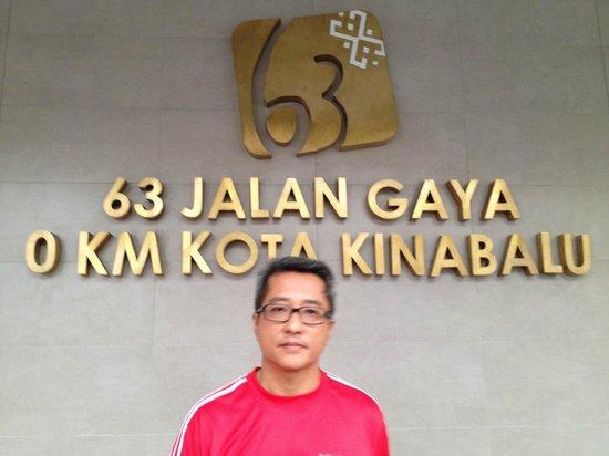 Hotel Sixty3 : Hotel Address
