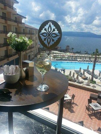 Euphoria Aegean Resort & Spa: lobby bar manzarası