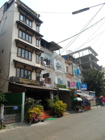 SP Vientiane Hotel : Hotel, located in a quiet street