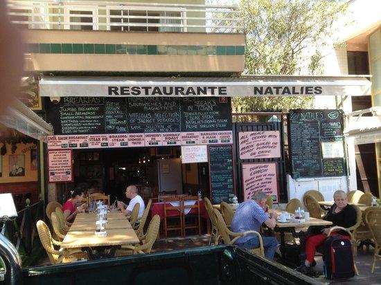 Natalie's: Good food place