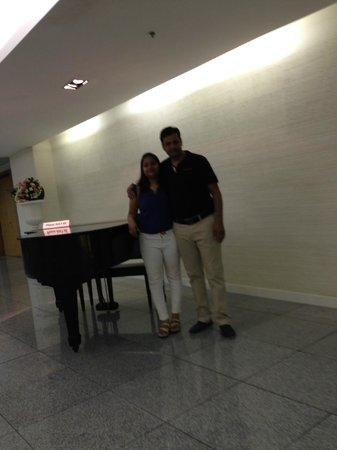 Baiyoke Suite Hotel : lobby