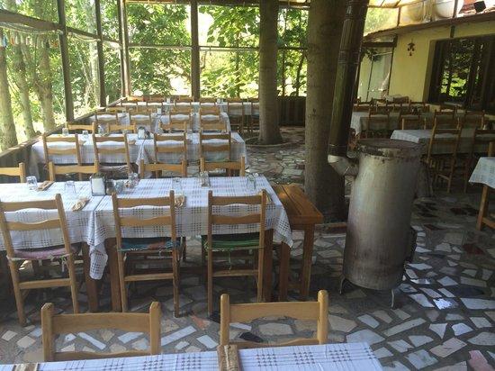 Bizim Ev Hanimeli Restaurant: Indoor